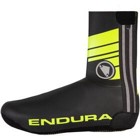 Endura Road Overschoenen Heren, neon yellow